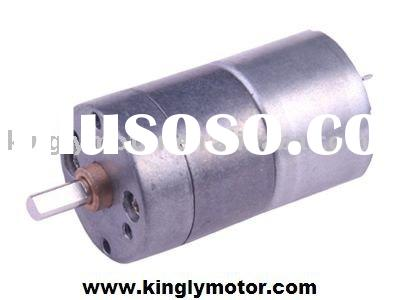 25mm dc geared motor,small gear motor, for autoamatic valve,vechile lock