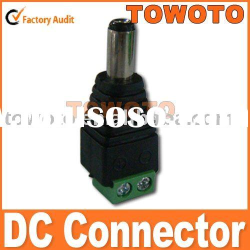 2.1mm Male DC Power Jack Adapter Connector Plug
