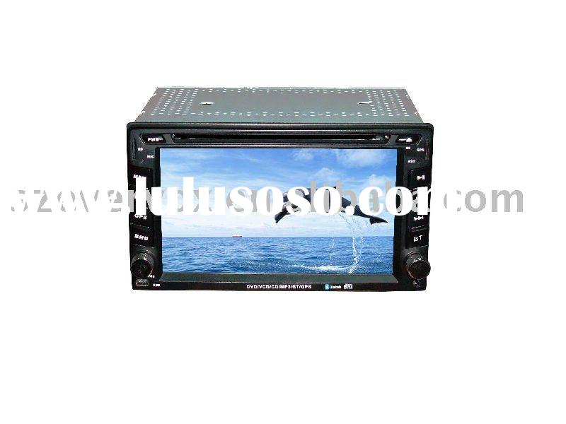 2 din car gps DVD player car dvd pc with lcd tv
