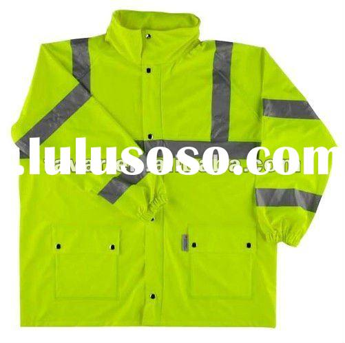 3M Reflective Safety Yellow Oxford Jacket Outdoor Reflective Workwear Waterproof Jacket