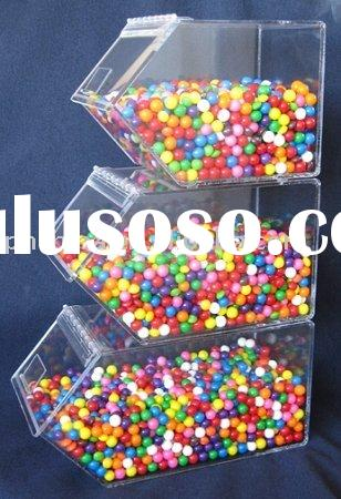 3-pack Stacking Acrylic Candy Dispenser,Acrylic Candy Box