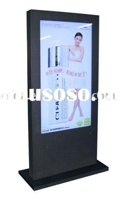42inch Newly developed ultra-thin floor standing advertising lcd display