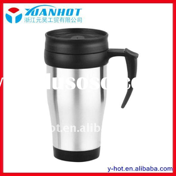 450ml double wall stainless steel travel mug cup