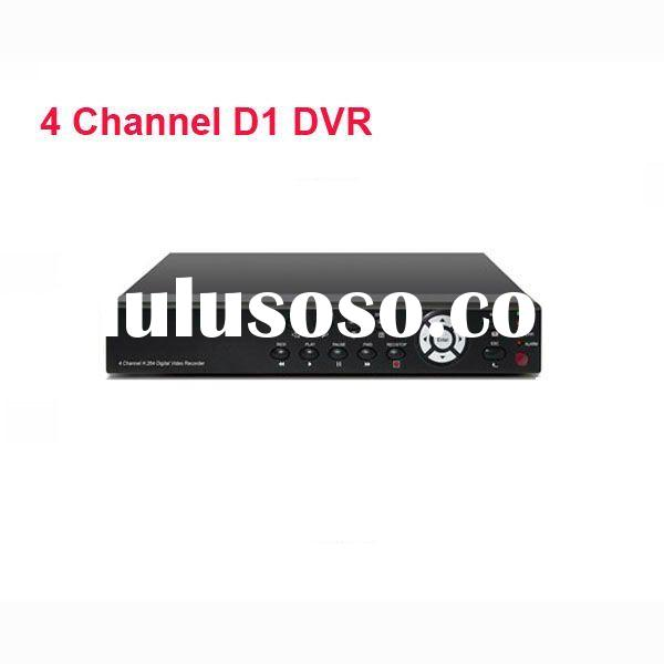 4 Channel D1 Realtime Network Standalone CCTV DVR V08