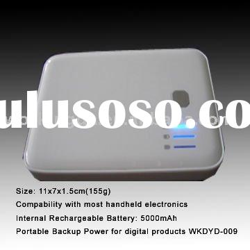 5000mAh Dual USB Power Pack for iPhone 4 and iPad