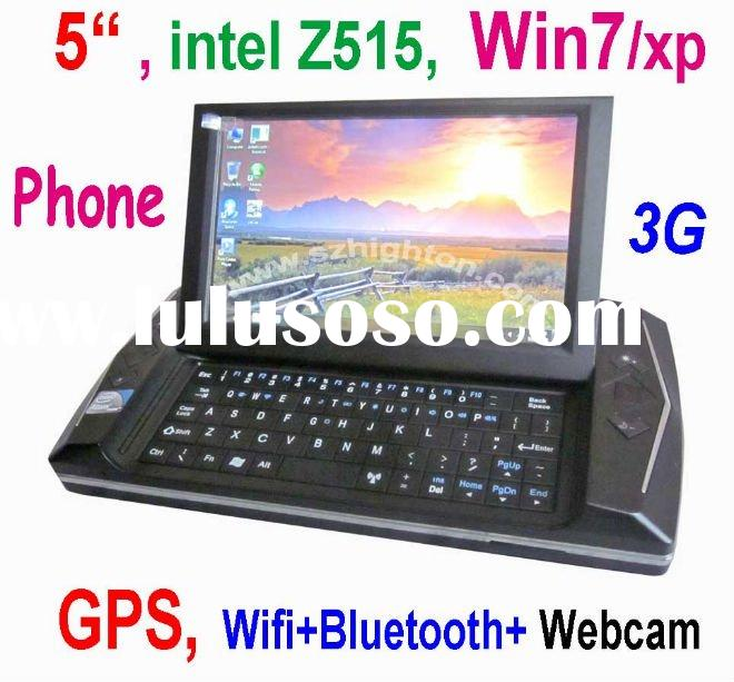 """5"""" 5 inch win7 MID Phone PDA UMPC Mobile Phone Smart Phone or Smartphone or laptop computer wit"""