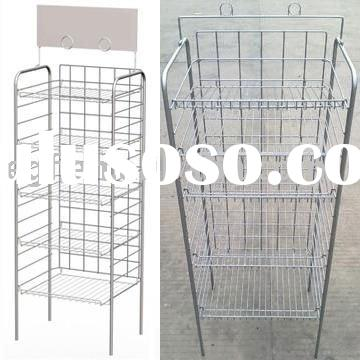 5 Tier Adjustable Wire Display Rack for Bread or Potato Chip