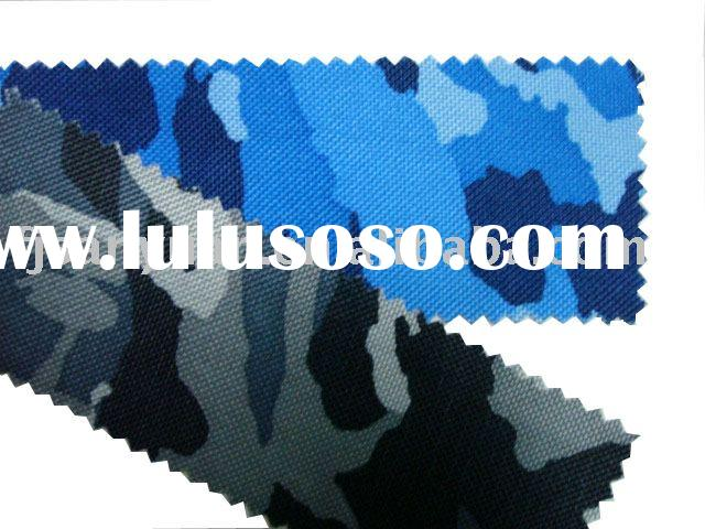 600D Camouflage Fabric(pvc coated camouflage fabric)