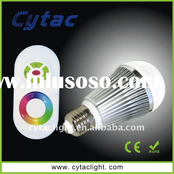 6W RGB LED Dimmable Bulb, RGB LED Dimmable Light