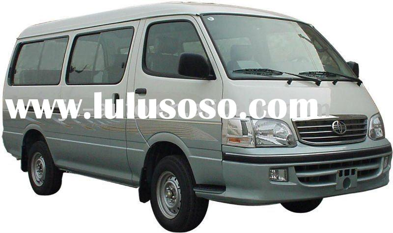 6-12 seats,Middle roof, flat nose, Jincheng minibus (GDQ6480A1B)