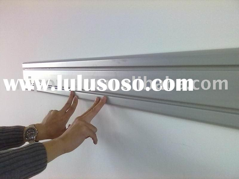 6 inch small slatwall panel, PVC Foam Slatwall panel, pvc profile, plastic extrusion panel
