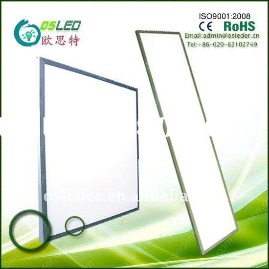72W 625*625*12 mm hot sale LED panel light fluorescent fixture cleanroom ceiling light recessed 3 ye