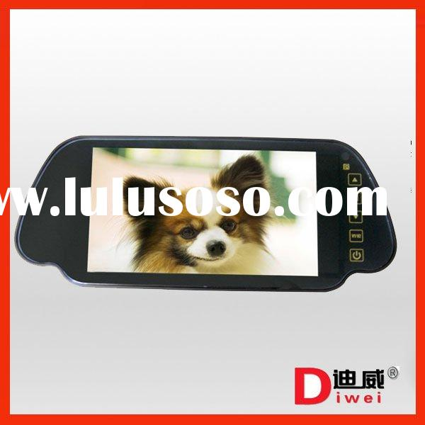 7'' TFT Color Screen LCD Car Rearview Back Up Monitor car rear view mirror monitor