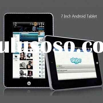 """7"""" Touch Screen 4GB FLASH tablet pc accessories with ANDROID GOOGLE SYSTEM 2.3"""