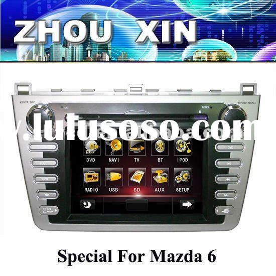 7 inch Mazda 6 in dash car DVD player with GPS Can bus