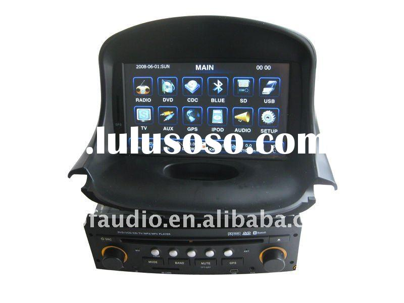 7 inch touch screen car audio player with gps for Peugeot 206