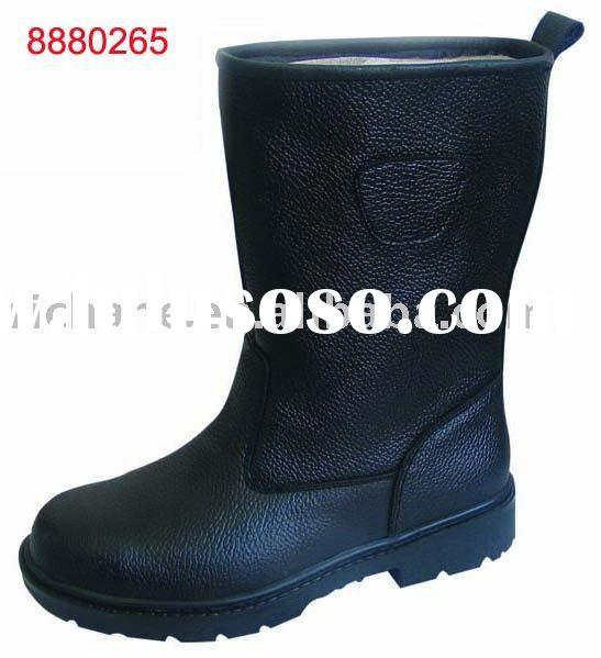 8880265 Steel toe Industrial Leather safety work boots
