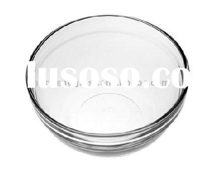 888-3 clear small decorative glass bowl