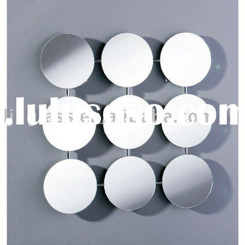 9 Circle Art Deco Wall Mirror Tina