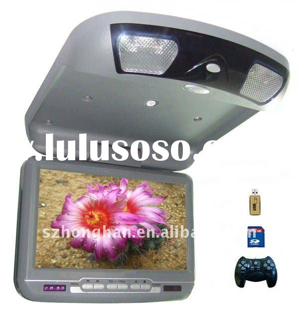 9 Inch Car DVD Player (Flip Down or Roof Mount)