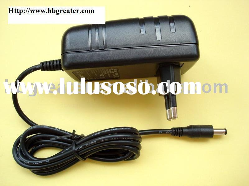 AC/DC adapter 12V 1.5A with CE UL approval