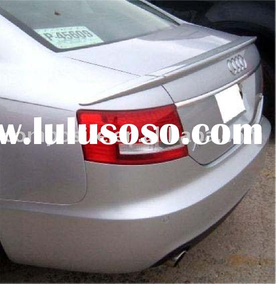 AUDI 05-09 A6 C6 SEDAN 3-PIECES REAR WING TRUNK SPOILER (Brand new, no MOQ,In stock, Free shipping)
