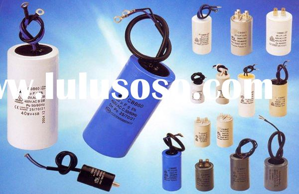Aluminum case metallized polypropylene film motor run capacitor CBB60