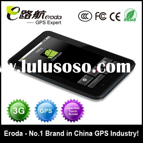 Android 2.2+Dual Camera+Sim Card Slot+GPS Navigation+Capacitive touch screen=T801 car tablet pc