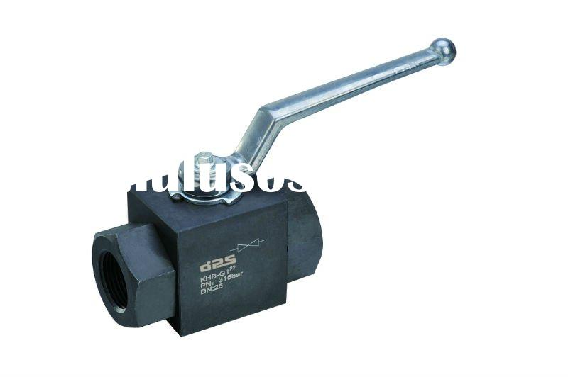 BKH,MKH Series High Pressure Ball Valve