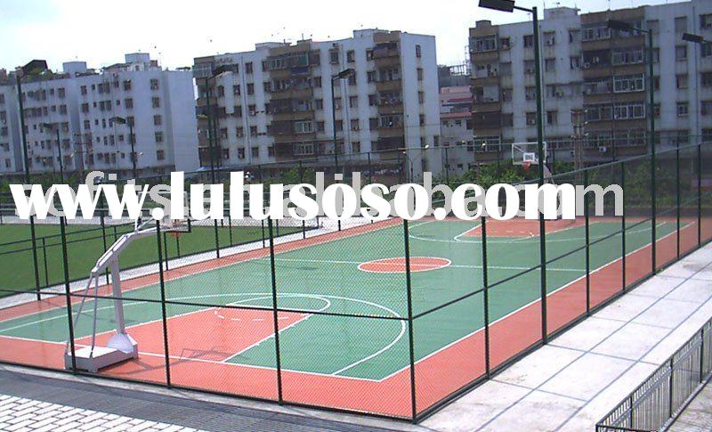 Wood flooring for basketball court for sale price china for Sport court flooring cost