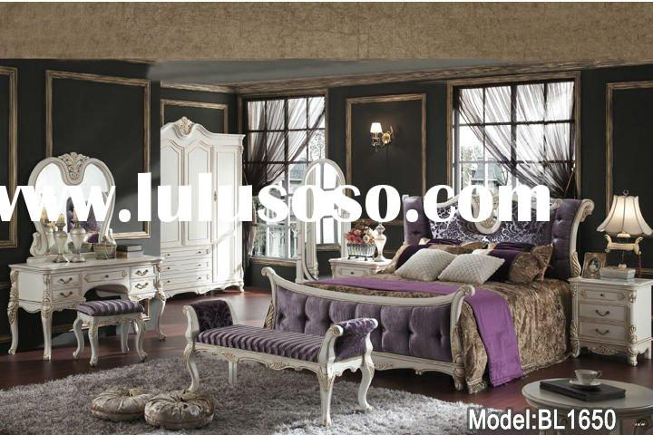 Beautiful Life Brand, white color, antique bedroom,bedroom set,home furniture BL1650