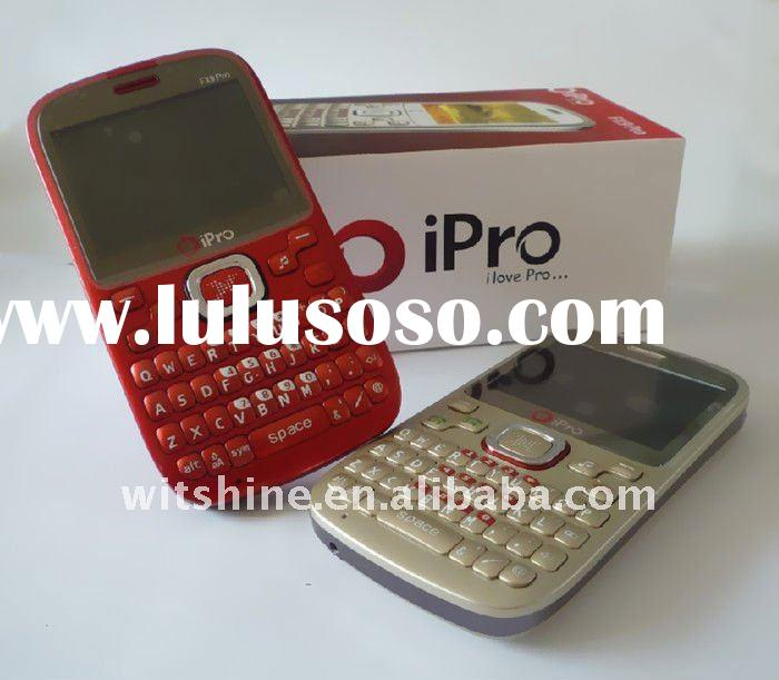 Cheap GSM phone iPro FX9 4 sim card mobile phones with Qwerty Keyboard