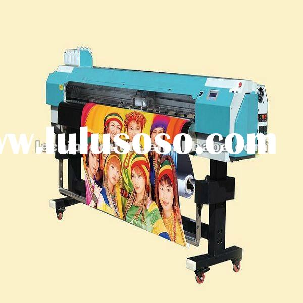 Cheapest solvent printer, Epson DX5 head, Europe parts, only one in China