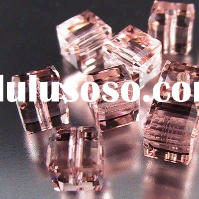 China machine faceted crystal glass bead