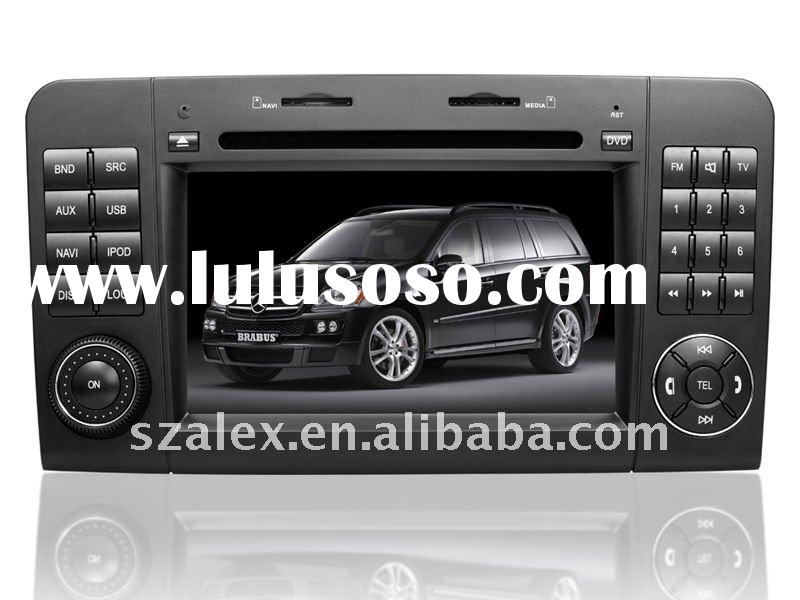 Double Din 7 inch Car DVD Player AL-9305 with Touch screen fixed panel and Built-in GPS