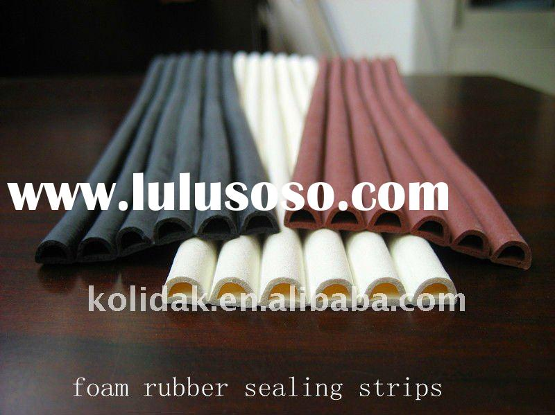 EPDM rubber foam seal strip extrusions for doors and windows