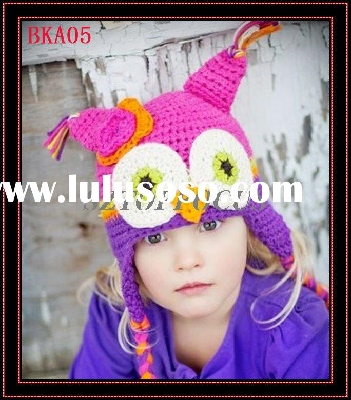 FREE CROCHET HAT PATTERNS FOR BABIES OWL DESIGN