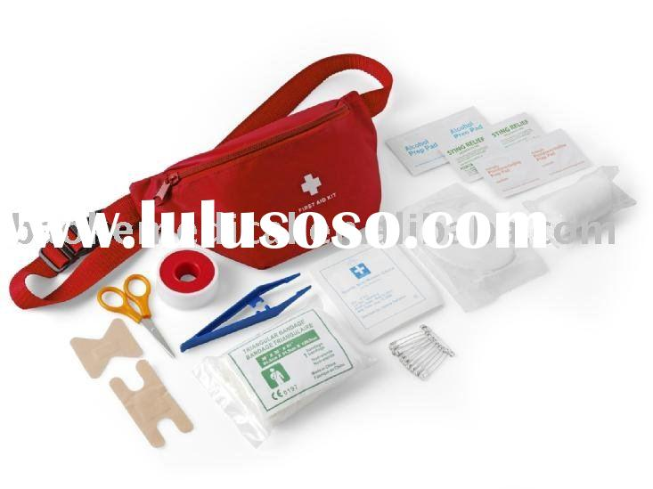 Fanny Pack Kit/mini first aid kit for outdoor,travel,hiking(2010 hotsale reusable bag)
