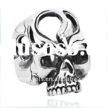 Fashion Stainless steel wholesale skull rings