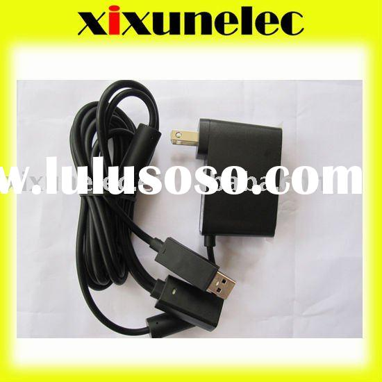 For XBOX360 Kinect Sensor Bar USB AC Adapter Power Supply Cable