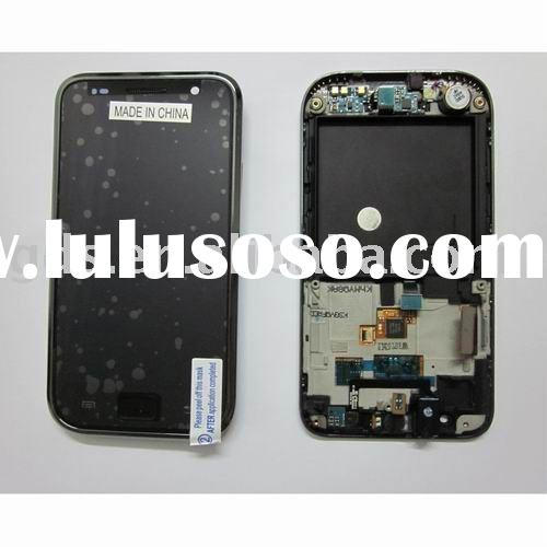 Galaxy S i9000 lcd+touch screen with frame bezel assembly for samsung