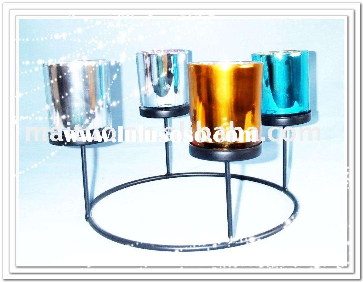 Glass Candle Holder ,Glass
