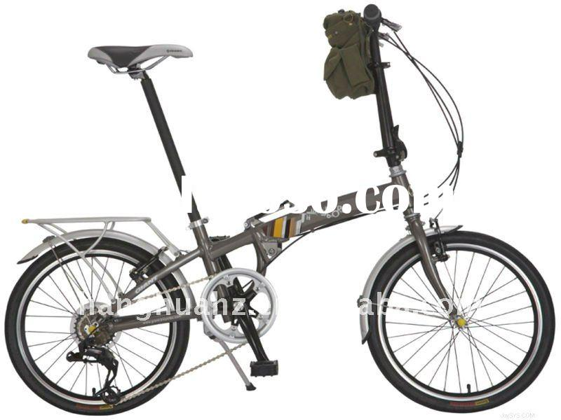 HH-FC1102 Hot fashion Folding bike with basket in front