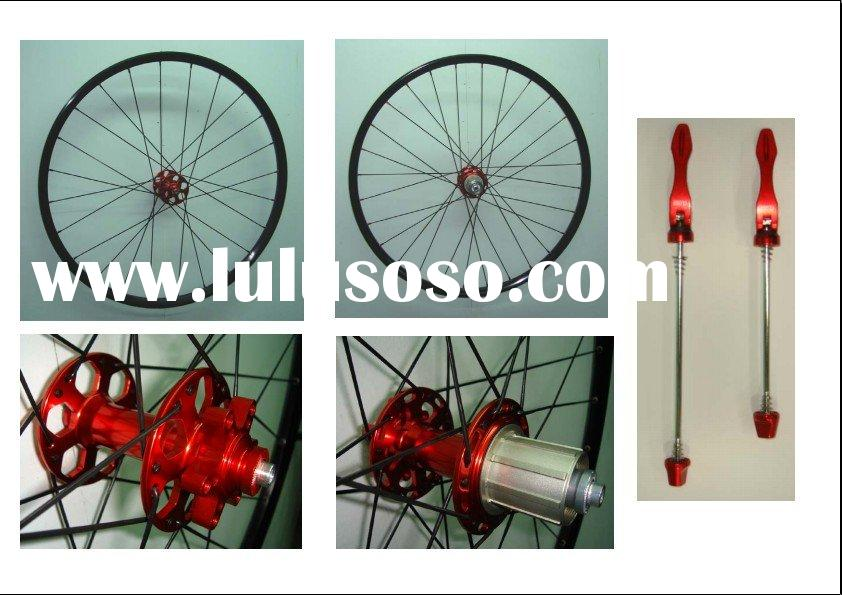 Hand built 20mm clincher alloy mtb bicycle wheels