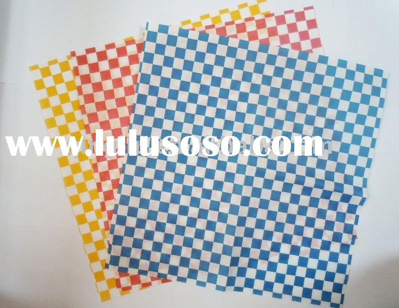 High Quality Printed Food Wrapping Paper