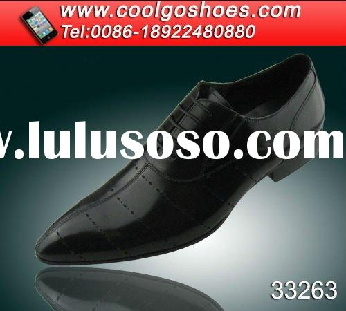 High quality Italy design men dress pointed shoes