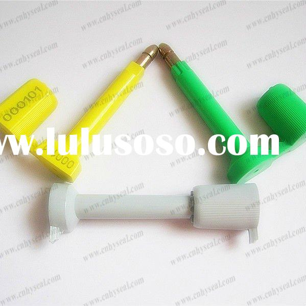 High security bolt container seal
