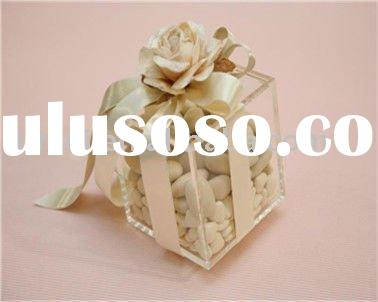 Hot New Acrylic Gift Box For Wedding,Welcome ODM/OEM