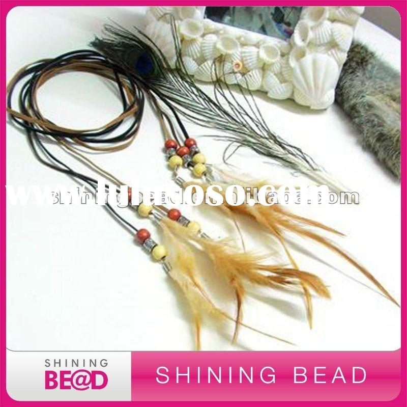 Hot Sell Feather Pendant Necklace