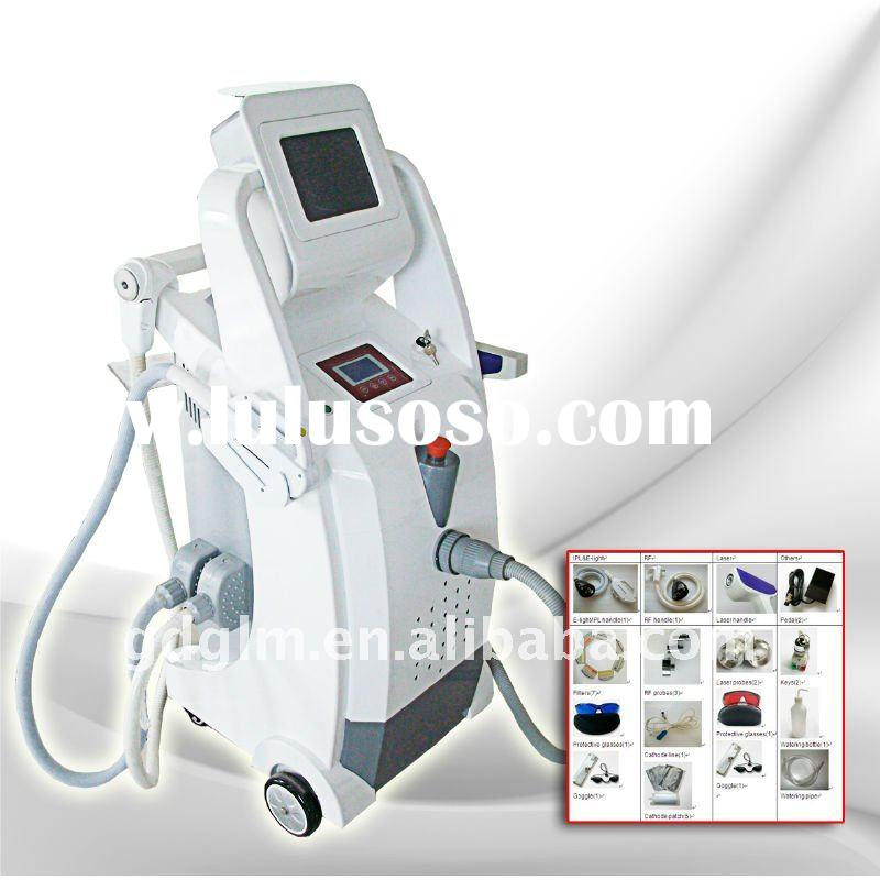 IPL+RF +Laser hair removal skin rejuvenation tattoo removal beauty salon equipment